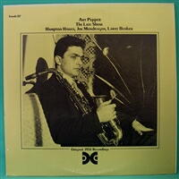 アート・ペッパー(ART PEPPER)の「ザ・レイト・ショウ」(THE LATE SHOW):STRAIGHT-AHEAD JAZZ VOLUME ONE